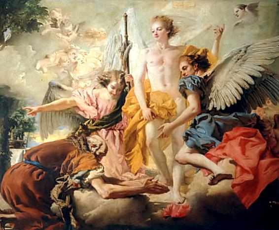 De seks met engelen